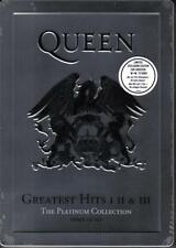 QUEEN / GREATEST HITS I II & III - PLATINUM COLLECTION - 3CD STEELBOX