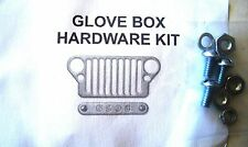 Jeep WWII 1941 - 45  Willys MB, Ford GPW, A3434-K Glove Box Hardware Kit, G503