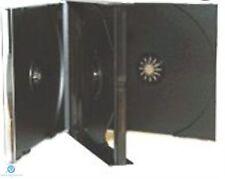 5 X 3 modo Negro Cd Jewel Funda 23 Mm De Lomo contiene 3 Discos De Repuesto Funda