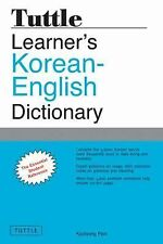 Tuttle Learner's Korean-English Dictionary by Kyubyong Park (2012, Paperback)