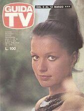 GUIDA TV 1977 N.10 CATHERINE SPAAK PAOLA PITAGORA JANE WYMAN TELLY SAVALAS