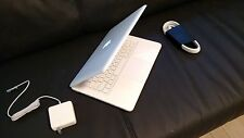 "Apple MacBook White 13"" MC516LL/A, 250GB HDD Intel 2.40GHz 4GB Ram a1342 Great!"