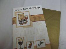 """Belle """" 85e anniversaire de souhaits"""" Carte de vœux. FREE P&P."""