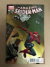 AMAZING SPIDER-MAN # 1 OPENA VARIANT (1:75) FIRST PRINTING MARVEL NOW(2014)RAMOS