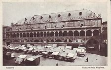 Italy Padova - Palazzo della Ragione Farmers Market old unused postcard