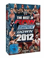 WWE The Best of Raw & Smackdown 2012 3er [DVD] NEU DEUTSCH CM Punk Cena The Rock