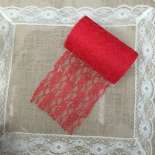 Lace Roll 15 cm x 22 M Table Runner Chair Sash Wedding Bouquet Venue Decoration