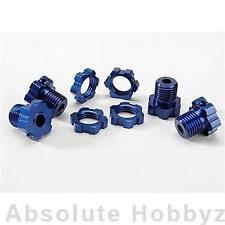Traxxas 17mm Wheel Hubs & Nuts (Blue) (4)   (TRA5353X)