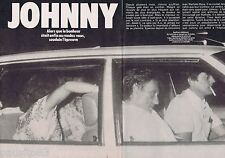 COUPURE DE PRESSE CLIPPING 1983 Johnny Hallyday (8 pages)
