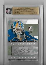 2011-12 ITG Ultimate Memorabilia Future Star Autographs #1 Jake Allen