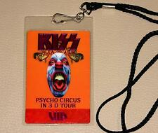 KISS Psycho Circus 3D Tour VIP Backstage Pass mit Band