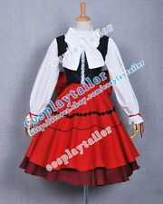 Hetalia: Axis Powers Hungary Cosplay Red Dress Tailor-made Comfortable to Wear