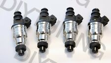 NEW 550cc FUEL INJECTORS FOR HONDA ACURA TURBO BOOST WITH PIGTAILS EV1 JDM VTEC