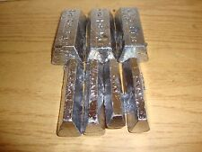 5 lbs Pure Soft Lead Ingots for Sinkers & Molding!