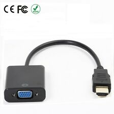1080P HDMI to VGA Female Video Cable Cord Wire Converter Adapter for PC HDTV TV