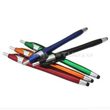 5x 2 in 1 Capacitive Touch Screen Stylus Ball Point Pen for Phones & Tables
