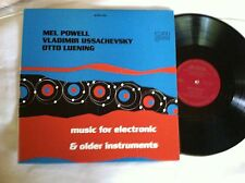 CRI 227 USD Stereo 'Music for Electronic. .  Mel Powell, Ussachevsky, Luening NM