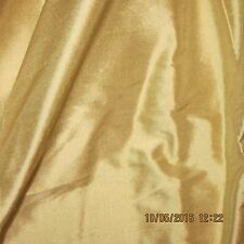 TISSUE SILK FABRIC AWESOME OVER RIPE LEMON ANTIQUE FRENCH DRESS S67 1PC.LEFT