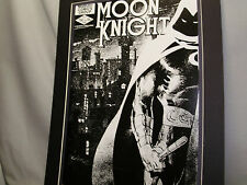Marvel Comic Moon Knight #35 Poster Comic Book Convention Exhibit