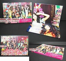 NEW Taiwan CD+DVD w/BOX+Poster Japan GIRLS' GENERATION SNSD 3rd LOVE & PEACE