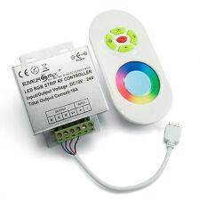 Radio contrôleur 12v fonction tactile télécommande pour LED rgb strip