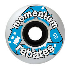 Momentum Rebates WHEELS 50mm -COMPLETE SET-4 WHEELS-SKATEBOARD LONGBOARD-CRUISER