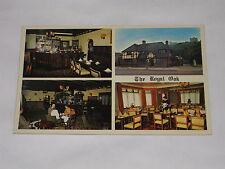 VINTAGE The Royal Oak Postcard Windsor, Berks. Hosts Chris and Jenny Wing