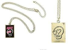 new Licensed 5 SECONDS of SUMMER logo 5SOS pop punk SKULL HEART charm NECKLACE