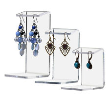 LOT OF 12 Earring Display Stands Set of 3 Jewelry Counter Holder Earing