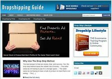 Drop shipping Guide Website + 1 Year Free hosting