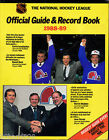 OFFICIAL GUIDE & RECORD BOOK 1988-89 NATIONAL HOCHEY LEAGUE QUEBEC NORDIQUES