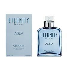 Eternity Aqua by Calvin Klein 6.7 oz EDT Cologne for Men New In Box