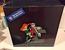 Poison Ivy & Harley Quinn Cookie Jar Warner Bros Studio Store NEW Suicide Squad