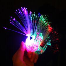 Beautiful Peacock Led Light Up Toys Xmas New Year Gift Automatically Flashing