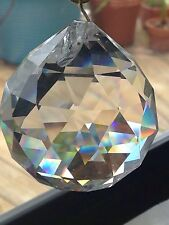 40mm Swarovski Disco Ball Prism Pendant SunCatcher Lots Rainbows!!