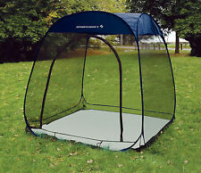 NEW SPORTCRAFT 6'x6' POP UP OUTDOOR MESH SCREEN ROOM CAMPING 6' TENT WITH FLOOR