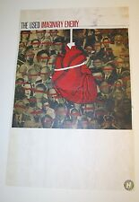 """Wow Rare The Used Band Imaginary Enemy Album Art Promo Poster 10.5x16.5"""""""