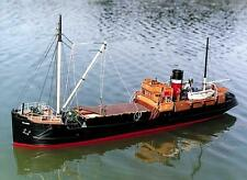 """Detailed, RC Model Ship Kit by Caldercraft: the """"SS Talacre Coaster"""""""