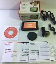 Mio Moov 300 GPS N179 Touchscreen Navigation System U.S  & PUERTO RICO Maps