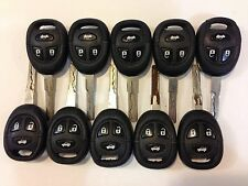LOT OF 10 SAAB 9-3 9-5 01-09 OEM KEY LESS ENTRY REMOTE BULK FOB KEYLESS 93 95