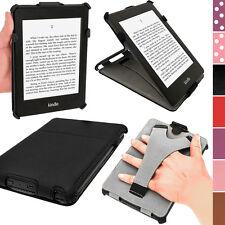 """Noir PU Étui Housse Case Cover Cuir pour Amazon Kindle PaperWhite 3G 6"""" WiFi 2GB"""