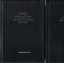 2001 Australia Post Executive Leather Collection Yearbook Album with all stamps