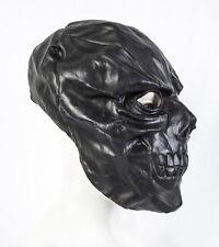 Latex Mask Black Mask Skull Halloween Fancy Dress Skeleton Costume Prop Adult
