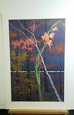 SPECIAL SALE!  ROLLAND GOLDEN,  Lithograph, Woodland Symphony, Signed