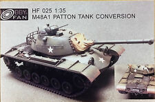 Hobby Fan 1/35 M48A1 Patton Tank Conversion (Resin Kit) - HF025
