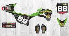 Kawasaki KX85 Splitfire Factory MX GRAPHICS 2001 2015 2016 Custom Motocross kit