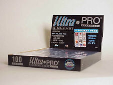 400 ULTRA PRO PLATINUM 12-POCKET Pages 2 1/2 x 2 1/4 Sheets Protectors  New
