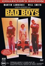 BAD BOYS DVD R4 used VGC (Martin Lawrence, Will Smith) COLLECTORS EDITION