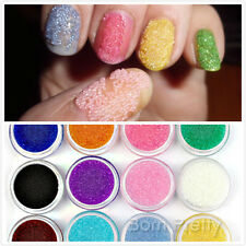 Candy 12 Colors 3D Caviar beads Glasses Steel Ball Glitter Nail Art Decoration