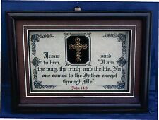 I AM THE WAY,THE TRUTH AND THE LIFE-Bible Verse Plaque Scripture,Christain,Gifts